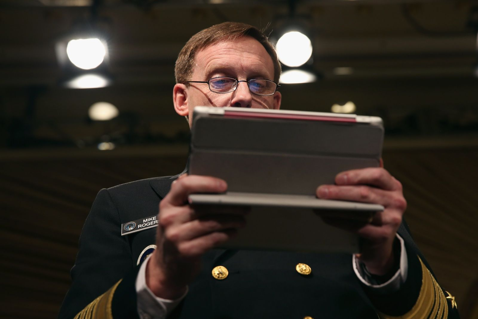 US-NSA-DIRECTOR-MICHAEL-ROGERS-ADDRESSES-CYBERSECURITY-TECHNOLOG