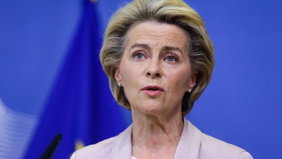 """EU-Kommissionschefin Ursula von der Leyen: """"Wir müssen eine stärkere europäische Gesundheitsunion schaffen"""""""