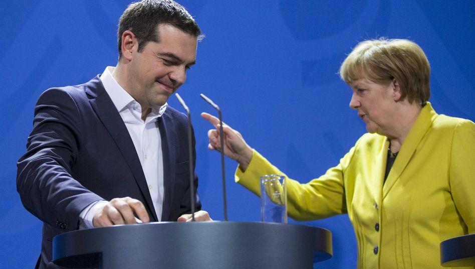 Merkel und Tsipras: Viel Vertrauen verspielt