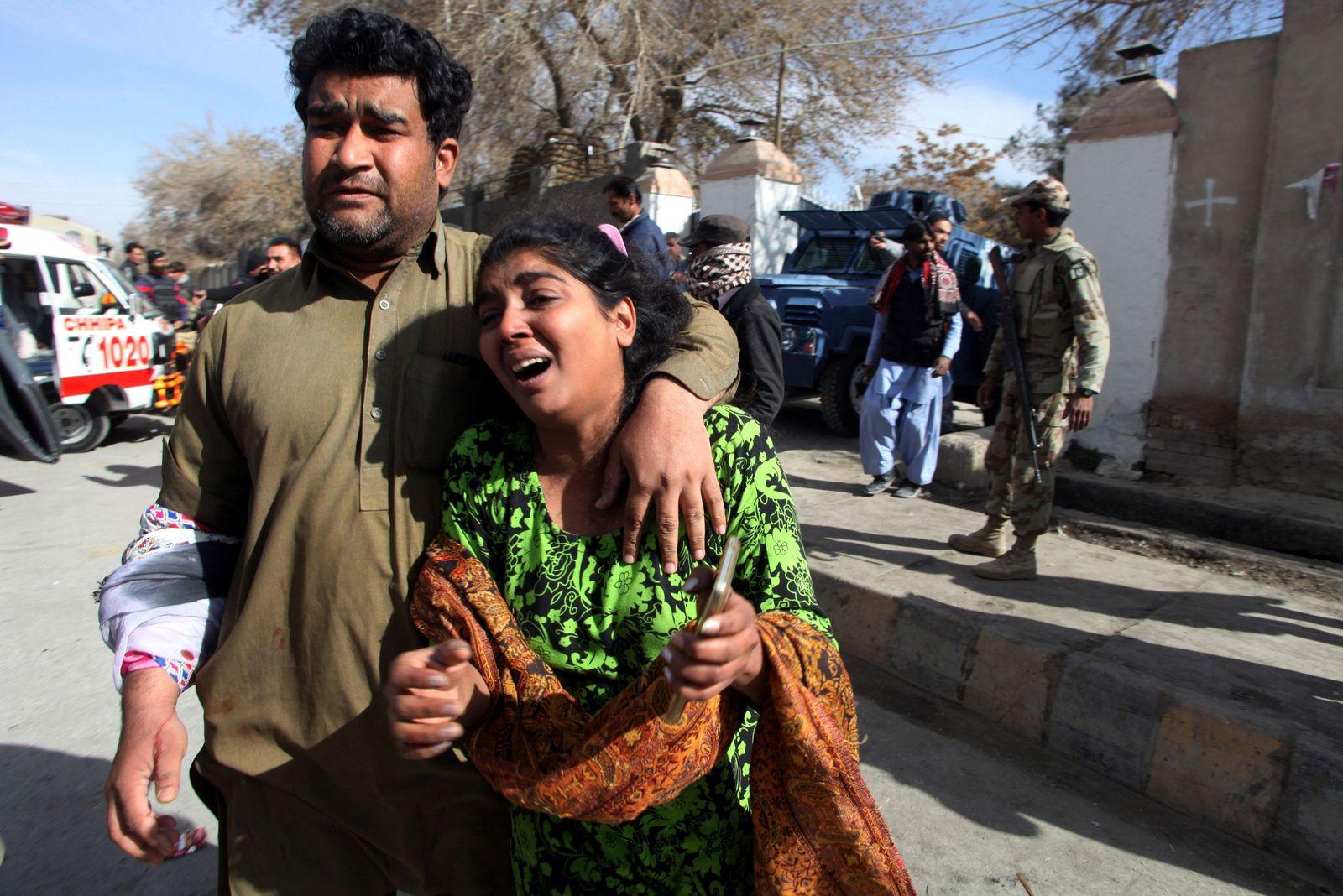 Pakistan Anschlag auf Kirche