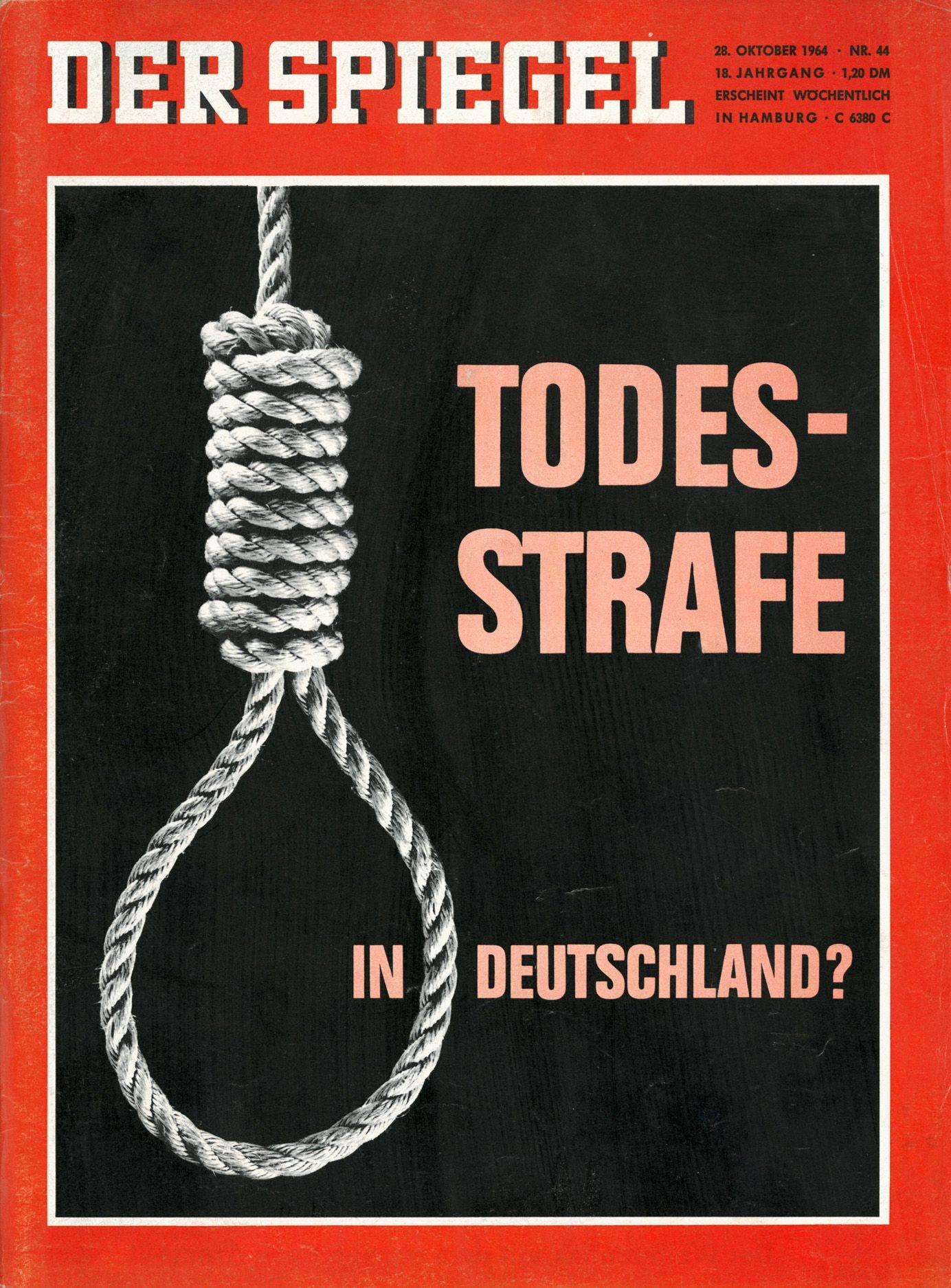 Todesstrafe Fur Richard Schuh Letzte Hinrichtung Durch Westdeutsche Justiz Der Spiegel
