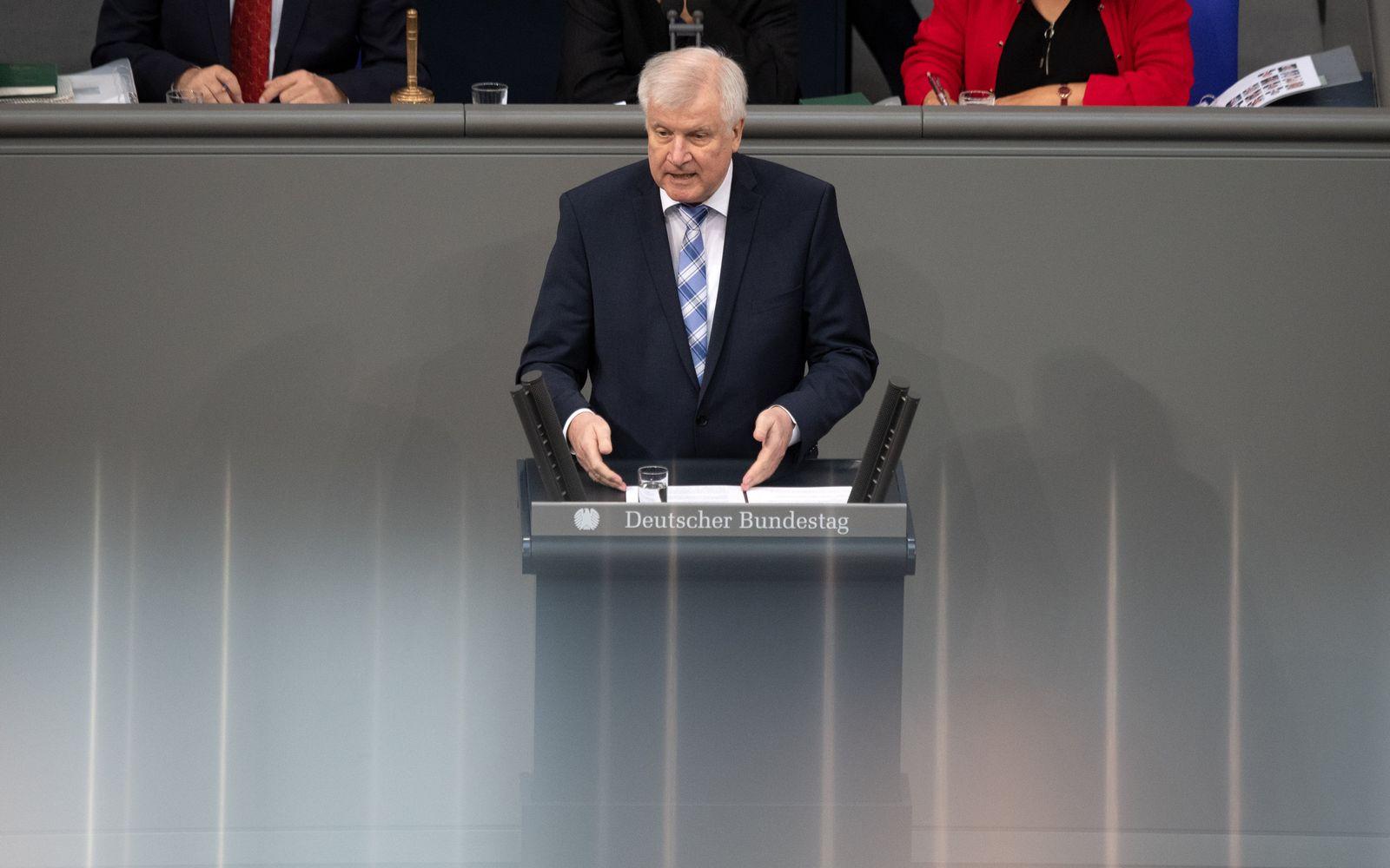 Bundestag Seehofer