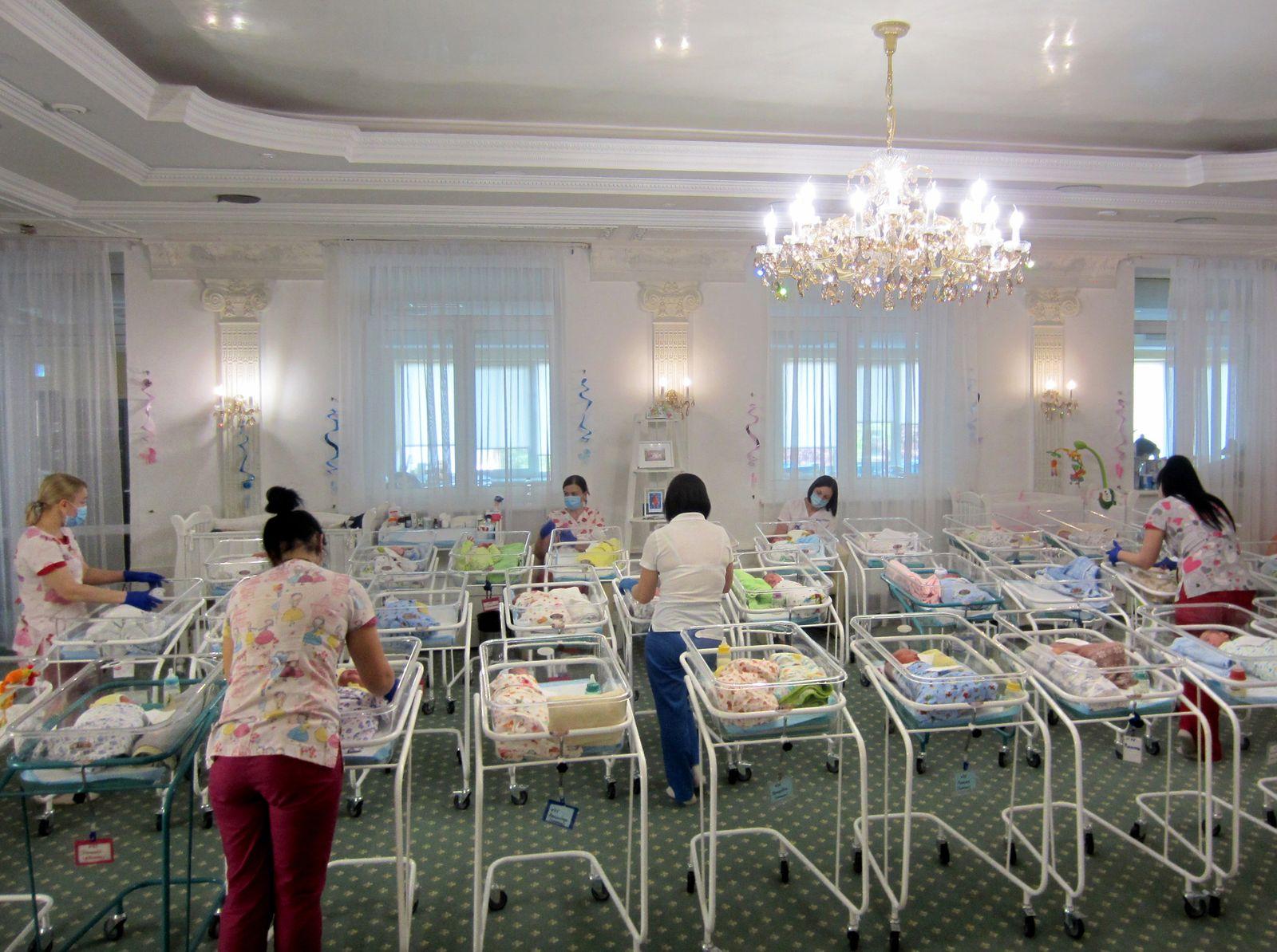 Leihmütter-Babys in der Ukraine