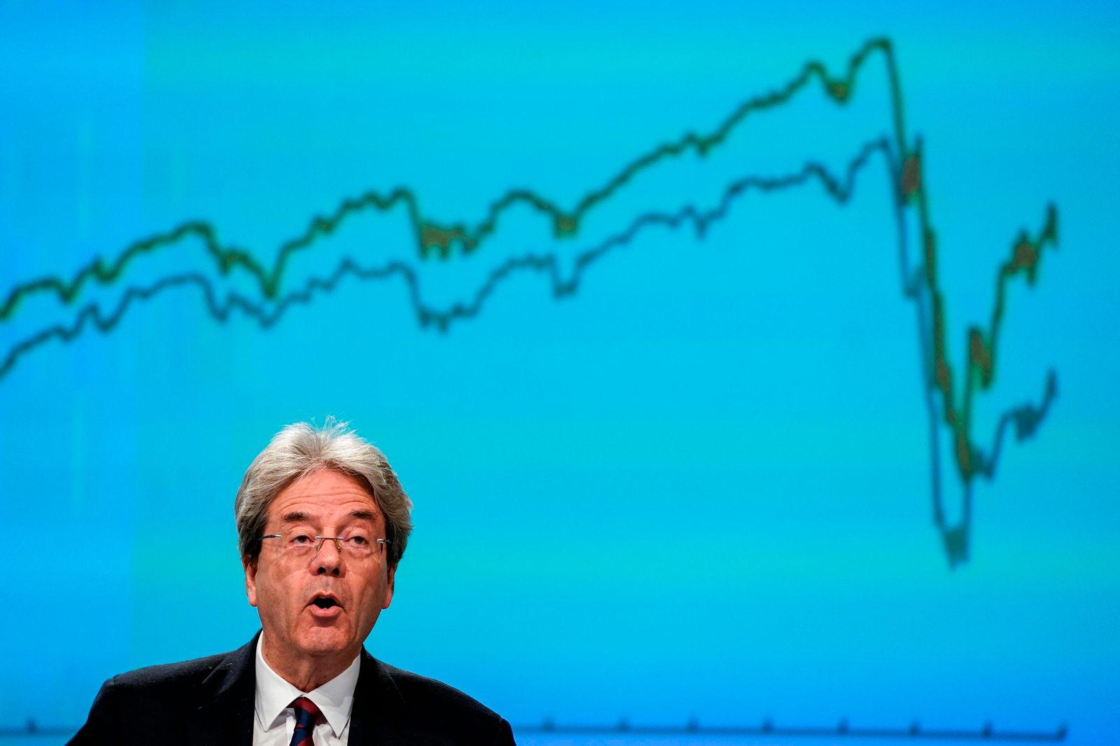 Coronavirus - Wirtschaft der Eurozone