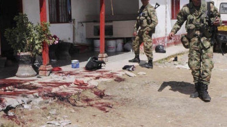 Anschlag auf Bauern in Antioquia