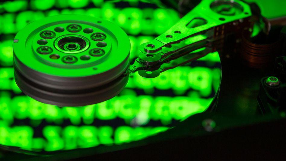 """""""Begrenzte und differenzierte"""" Speicherung von Daten"""