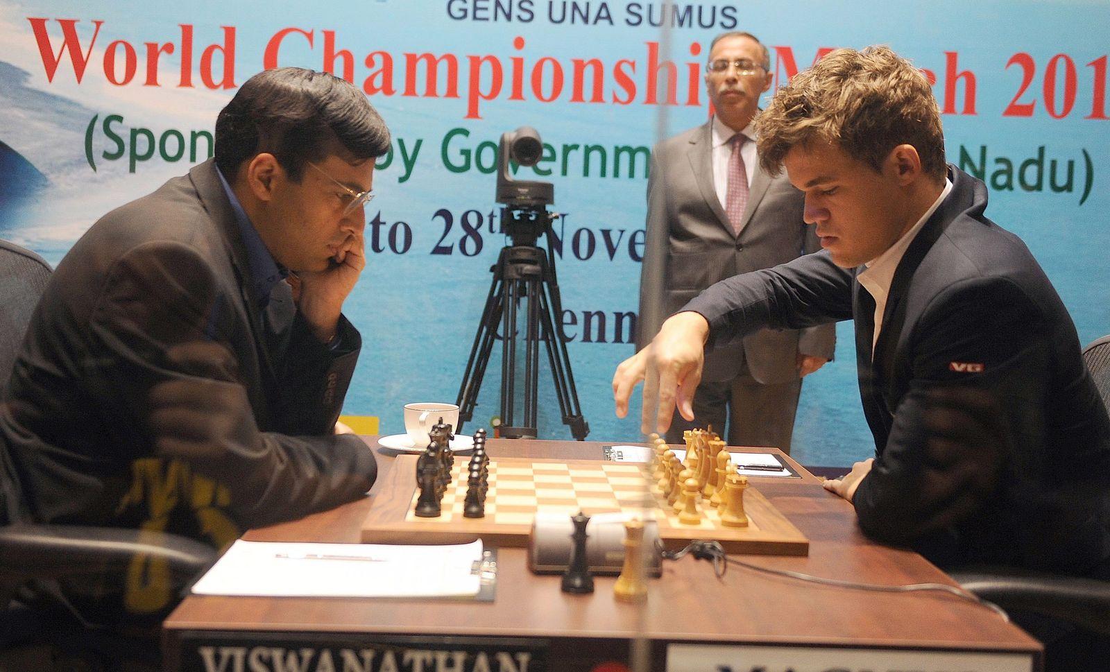 Vishwanathan Anand vs Magnus Carlsen