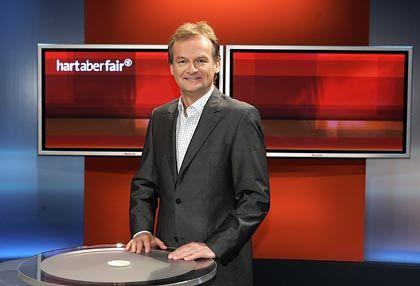 """Moderator Plasberg: Die """"Ressorssen"""" des Mannes"""
