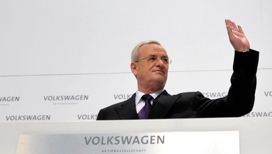Martin Winterkorn (Archivbild): Der Richter im Diesel-Verfahren hat Dienstaufsichtsbeschwerde gegen die Ermittler eingelegt