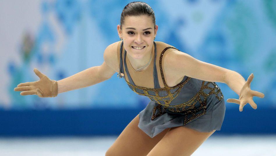Eiskunstläuferin Sotnikowa: Gold in der Einzelentscheidung