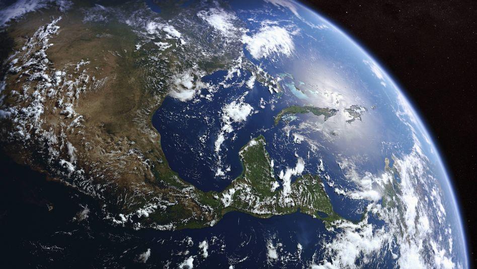 Blick aus dem Weltall