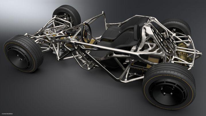 "Prototyp-Chassis des ""La Bandita"""