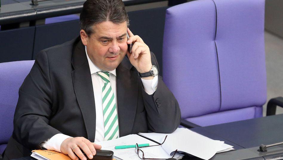 Wirtschaftsminister Gabriel: Hält Rüstungsgeschäfte mit Russland für nicht vertretbar