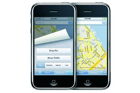 Google Maps auf dem iPhone: Die Positionsbestimmung via WPS kann mit Softwaretricks manipuliert werden