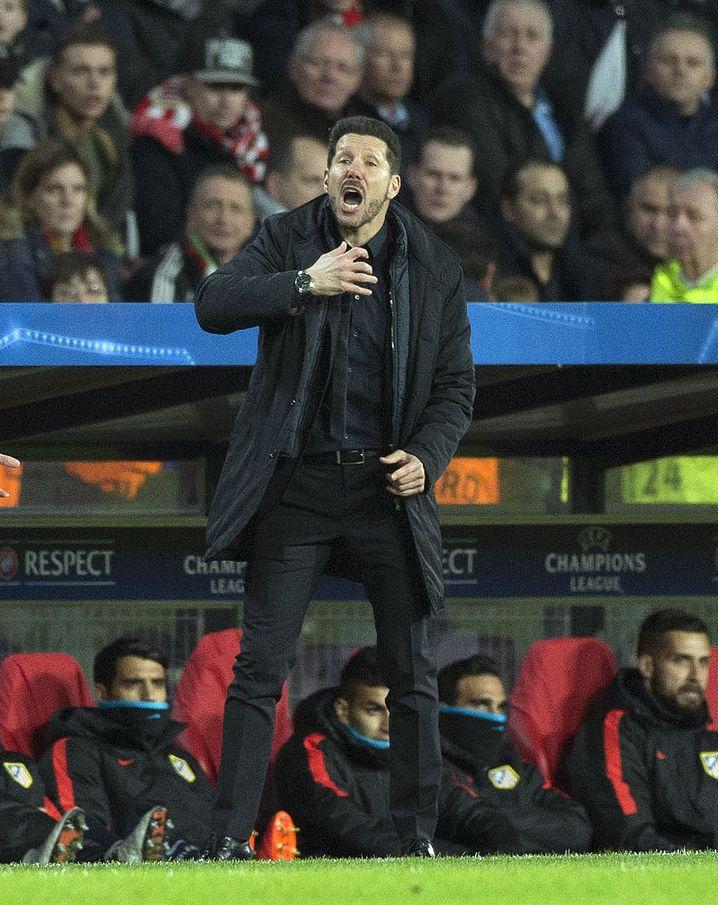 Atlético-Trainer Simeone: Beim FC Chelsea im Gespräch
