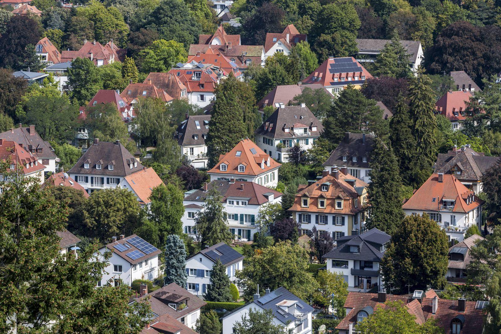 EINMALIGE VERWENDUNG Villengegend/ Freiburg