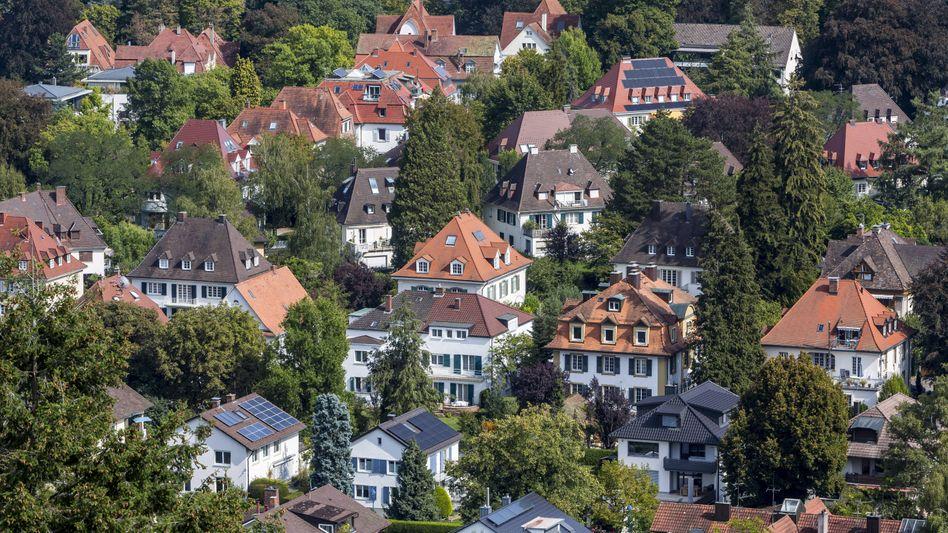Villen in Freiburg im Breisgau