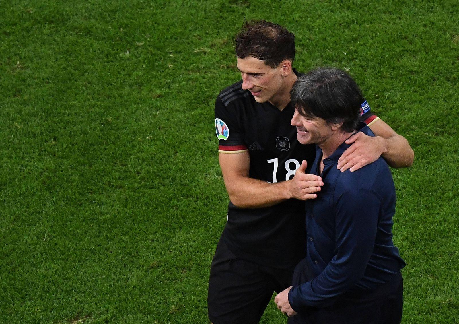 Sport Bilder des Tages 23.06.2021, xjhx, Fussball Europameisterschaft 2020 Gruppe F, Deutschland - Ungarn emspor, v.l. L
