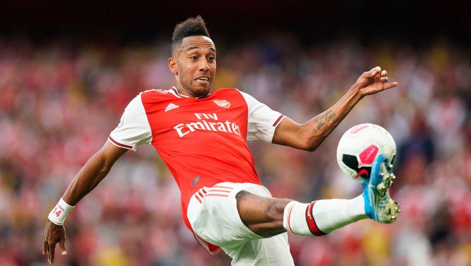 Pierre-Emerick Aubameyang ist der treffsicherste Stürmer des FC Arsenal