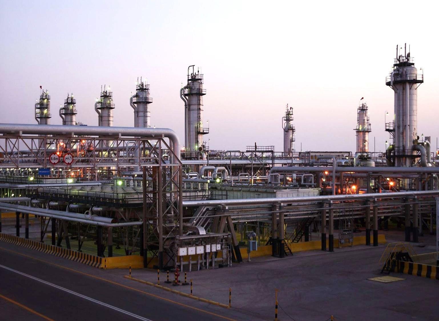 View shows Saudi Aramco's Abqaiq oil facility in eastern Saudi Arabia in this undated handout photo