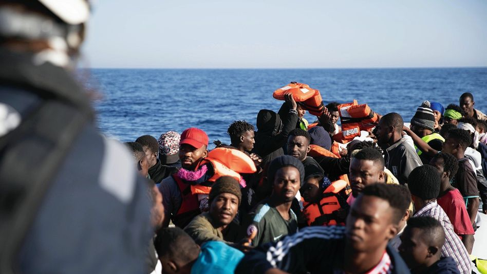 Flüchtlinge auf dem Mittelmeer: Die Route ist noch gefährlicher als sonst
