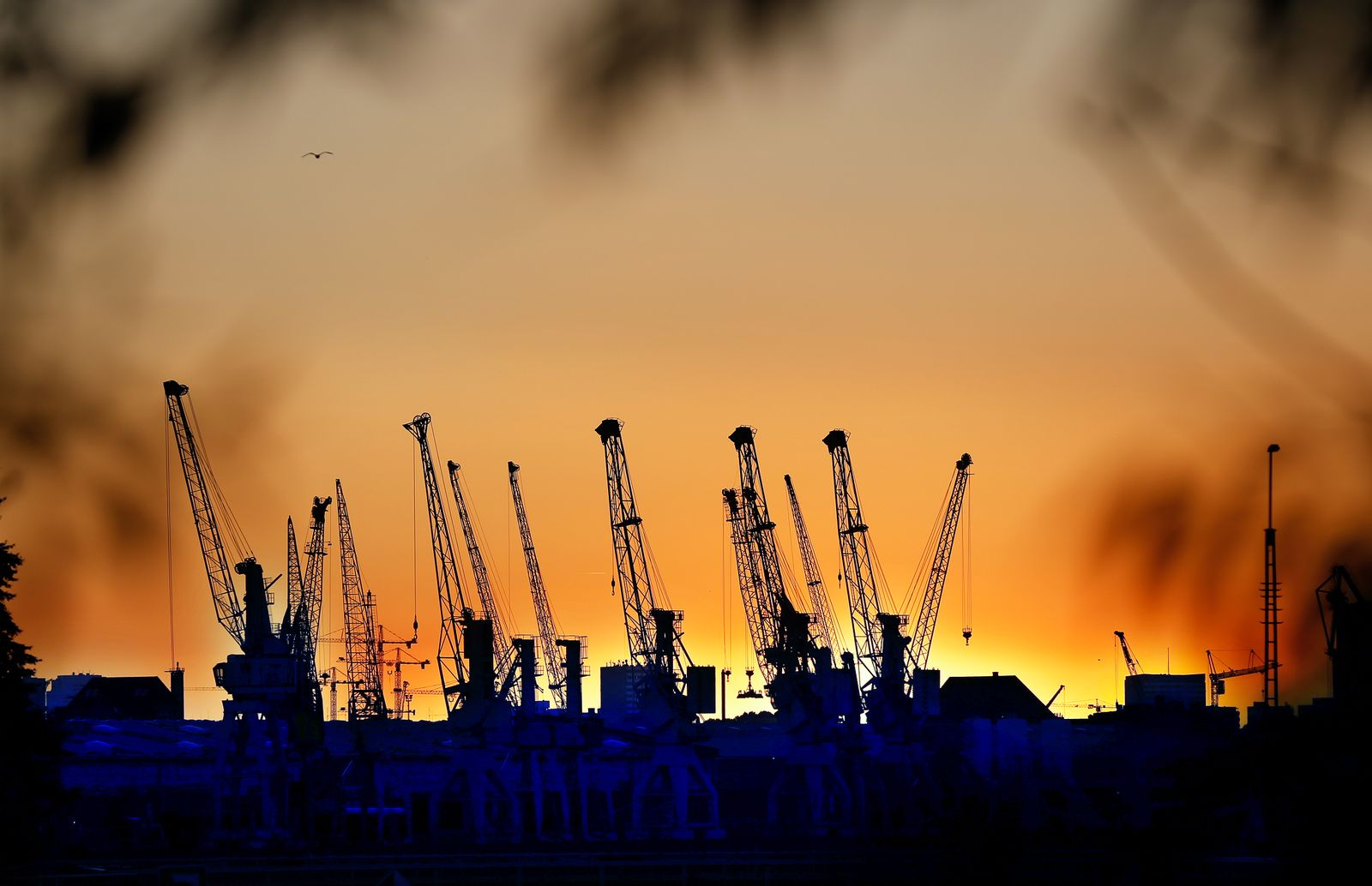Deutschland / Konjunktur / Hafenkräne / Export