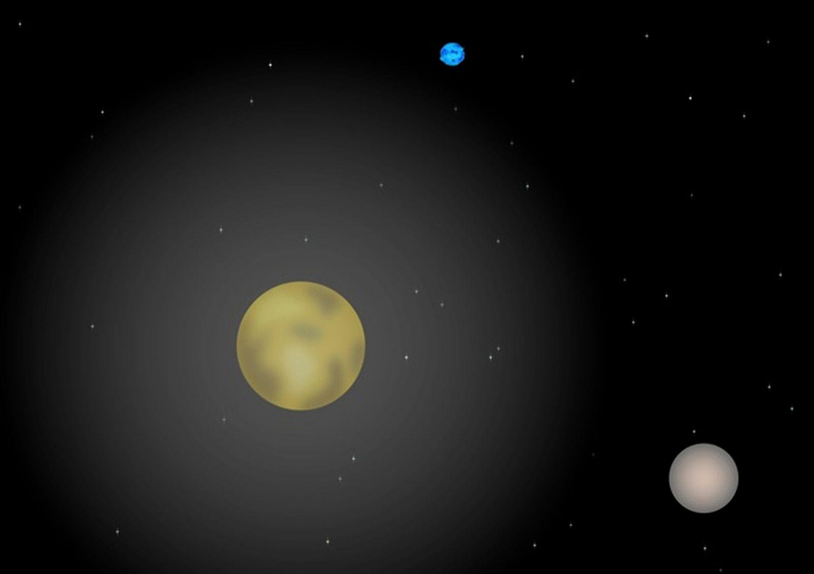 Plutos Atmosphäre