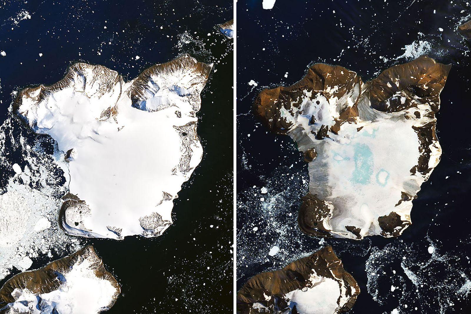 Antarktis/ Eisschmelze KOMBO