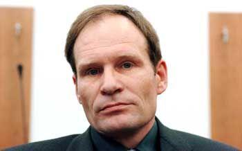 Angeklagt wegen Mordes: Armin Meiwes