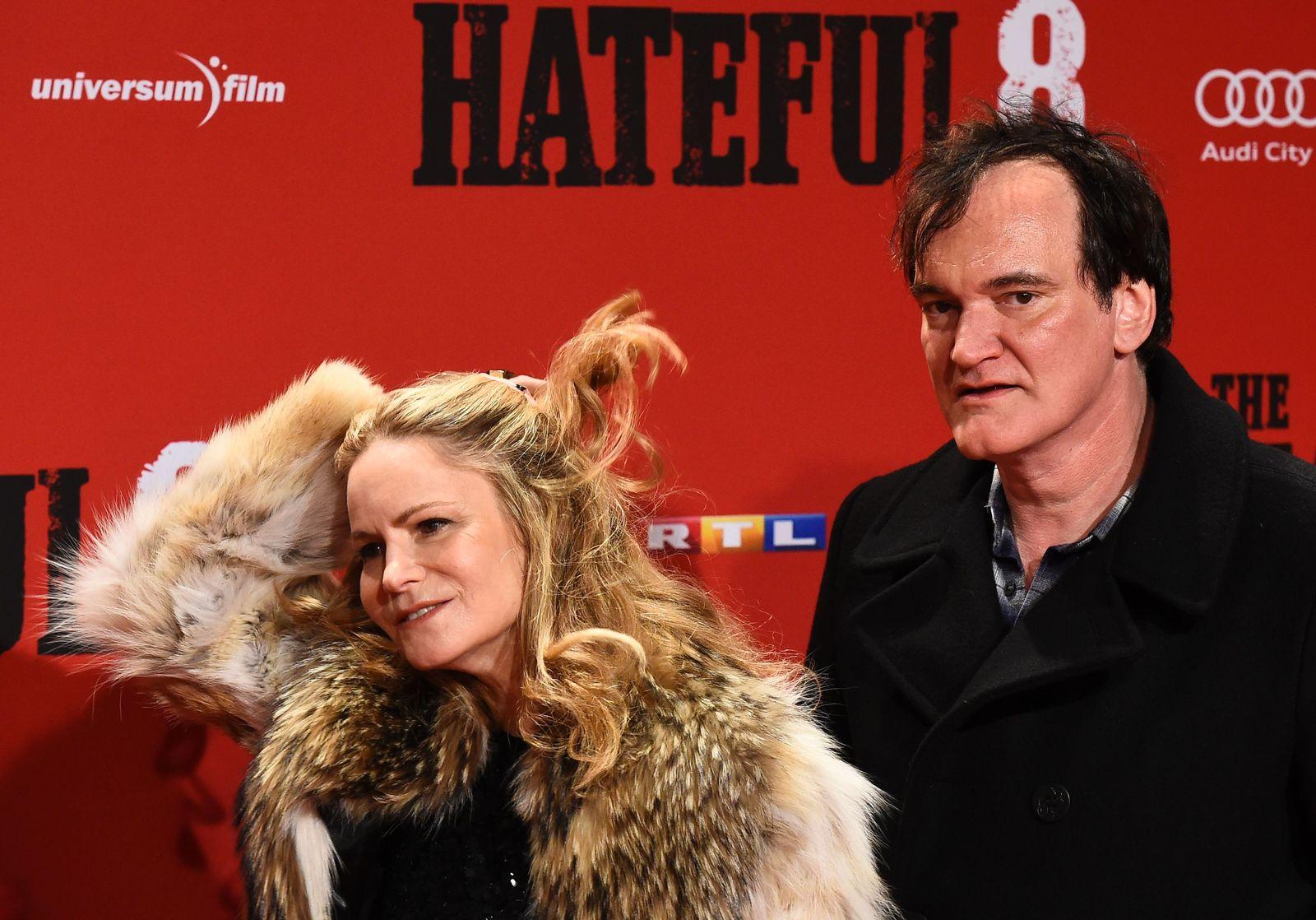 Quentin Tarantino, Jennifer Jason Leigh, Berlin, Premiere
