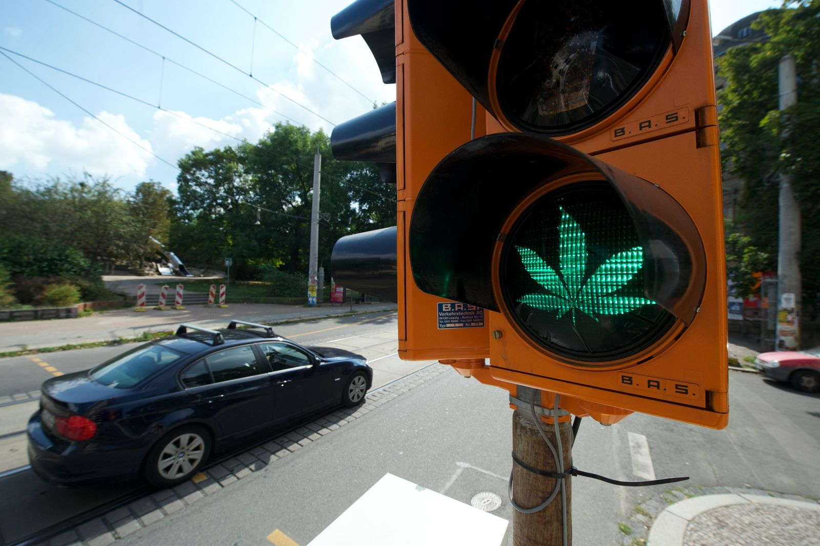 Cannabis-Ampel Leipzig