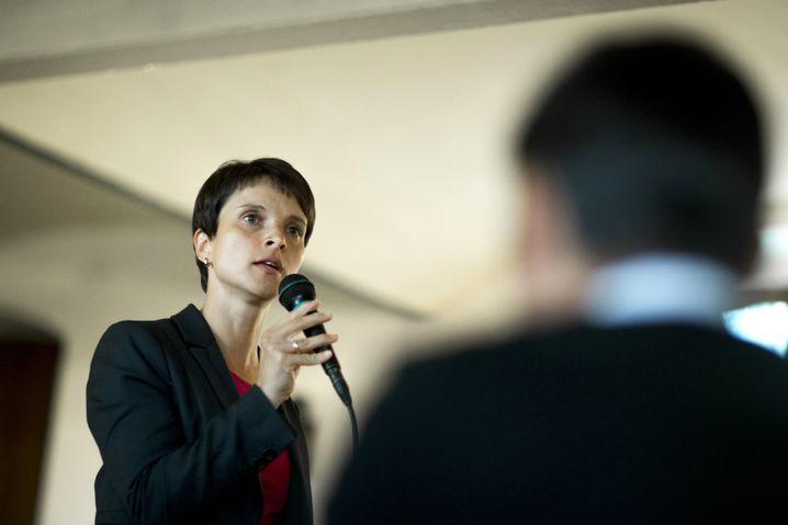 AfD-Vorstandssprecherin Petry: Vorne mit dabei