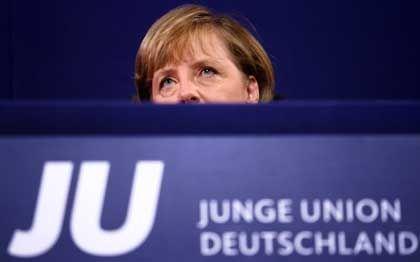 Bundeskanzlerin Merkel: Applaus für indirekte Angriffe auf die SPD