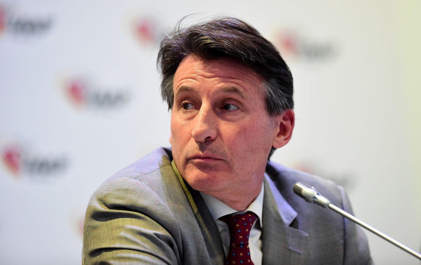 IAAF-Präsident Sebastian Coe