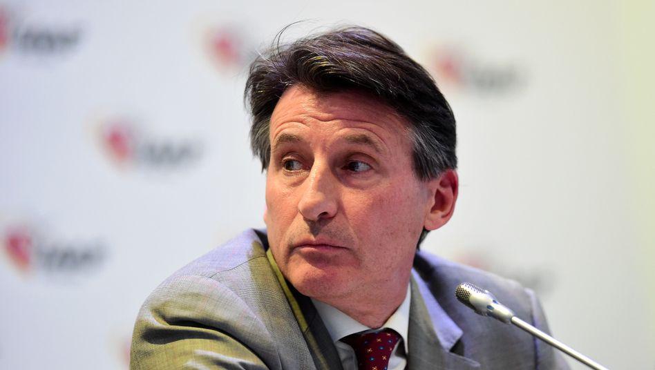 IAAF-Präsident Coe: Wusste er von der Einflussnahme seines Büroleiters?