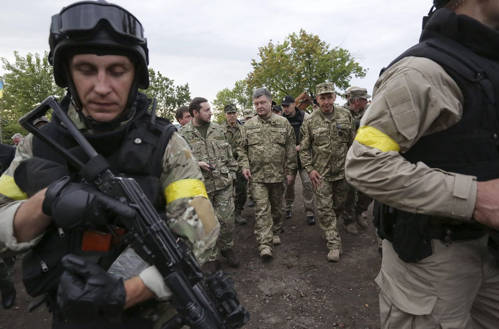 Ukraine rejects any talks or ceasefire with separatists