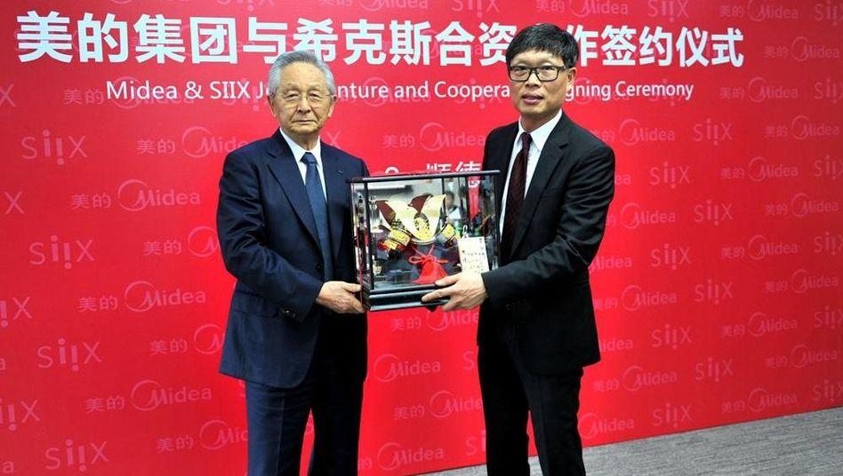 Shiro Murai (Schaltungsbauer Siix), Midea-Chef Paul Fang