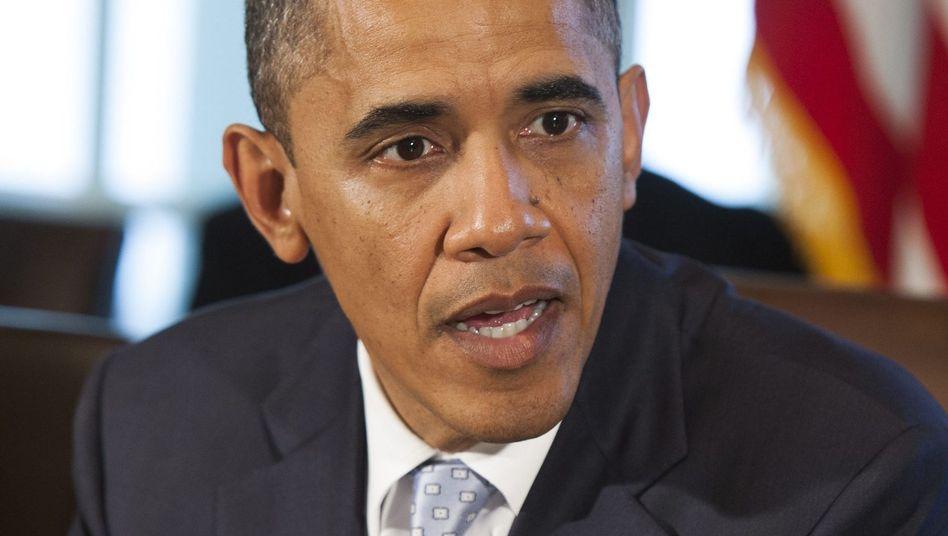 """US-Präsident Obama: """"Ernsthafte Bedenken wegen der Art und Weise"""""""