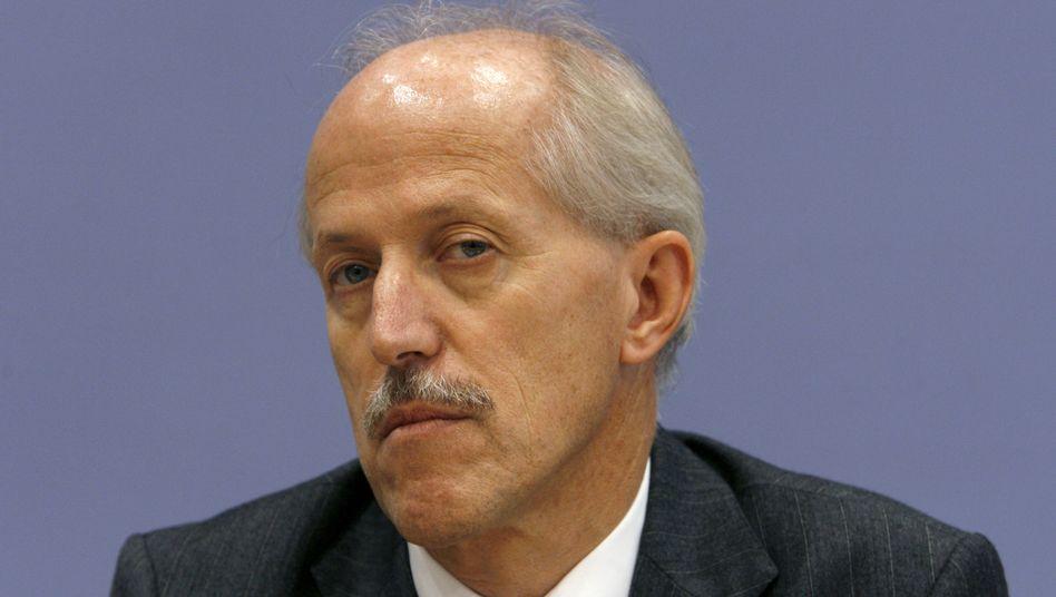 Ex-Staatssekretär Walther Otremba (Archivbild): Steile Karriere in zahlreichen Ministerien