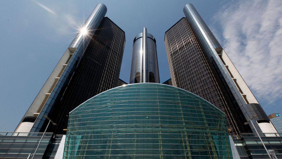 GM-Zentrale in Detroit: Raue Töne gegenüber der deutschen Tochter Opel