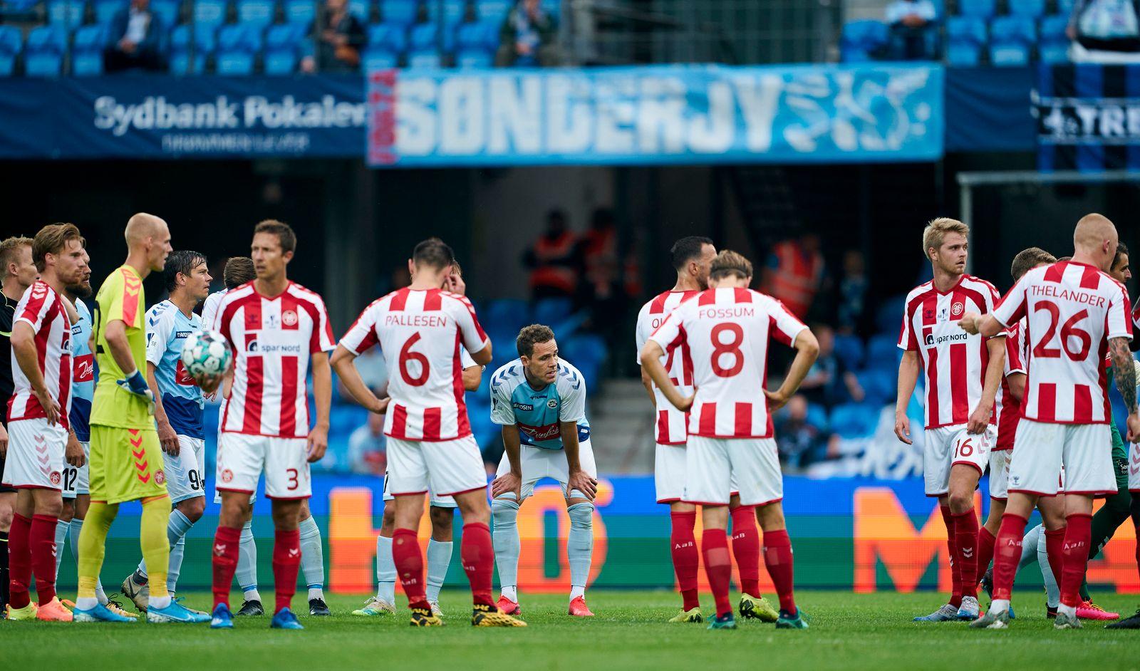 AaB Aalborg vs Sonderjyske - Danish Cup Final Sydbankpokalen