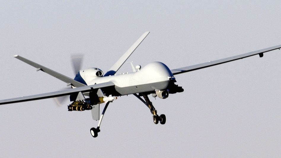 """Mit Hellfire-Raketen bewaffnete US-Drohne: """"Schwellen zur Gewaltanwendung runtergesetzt"""""""