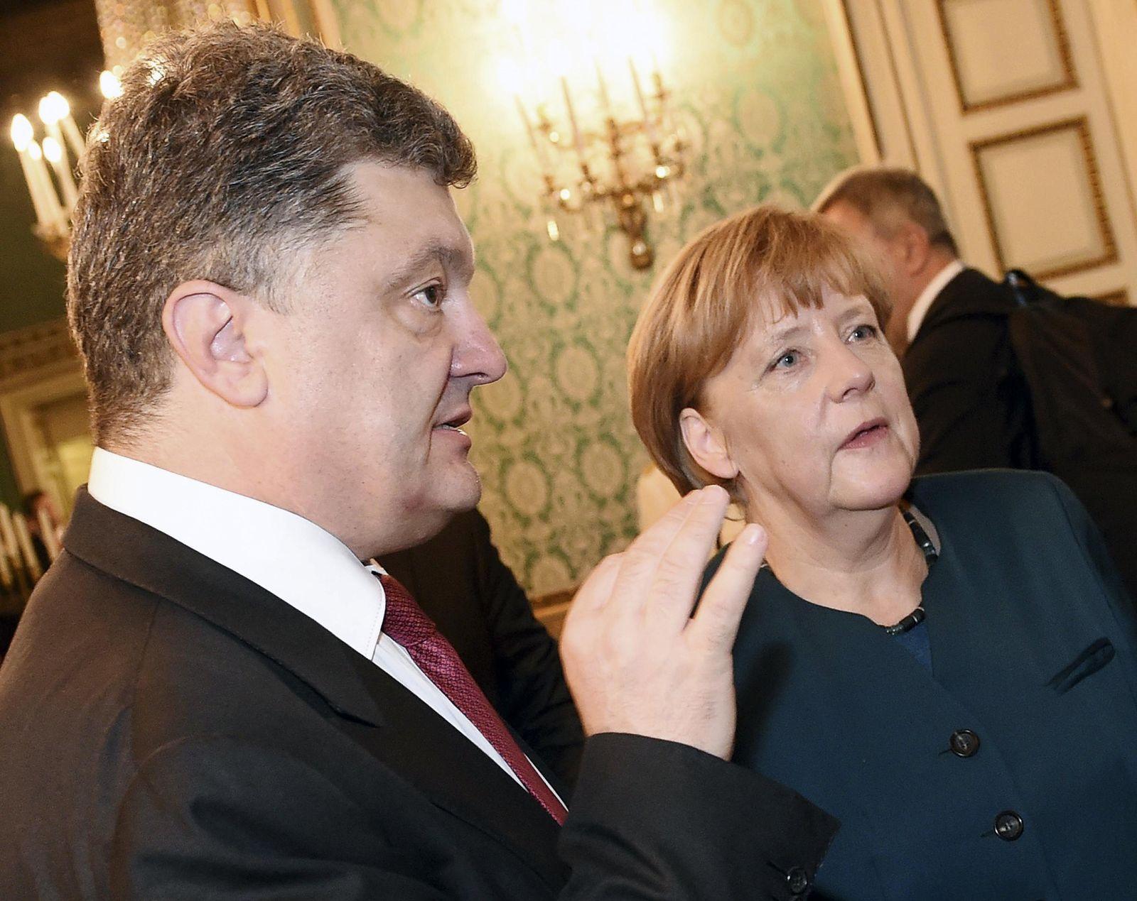 Merkel/ Poroshenko
