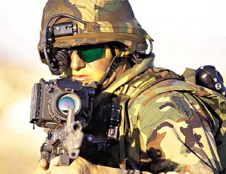 US-Soldat: Mit High-Tech gegen Attacken aus dem Hinterhalt