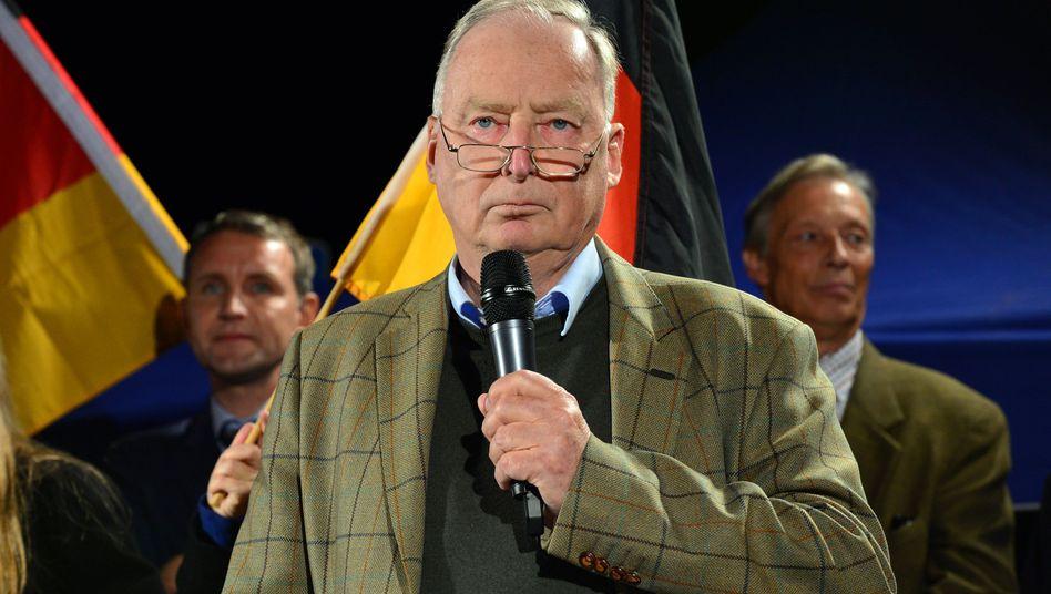 AfD-Vize Gauland auf Demonstration in Erfurt: Bewundert Reichsgründer Bismarck