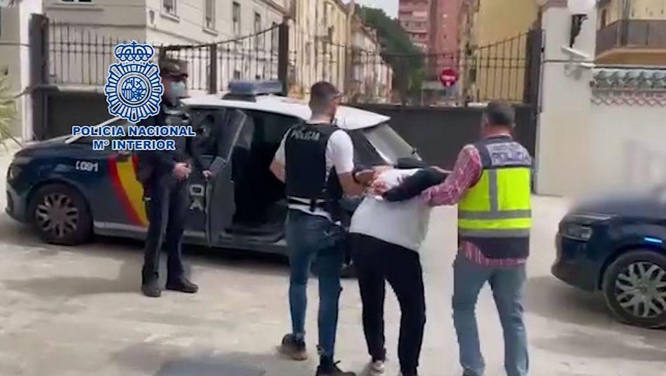 Festnahme in Málaga