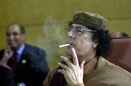 Libyens Revolutionsführer Muammar al-Gaddafi
