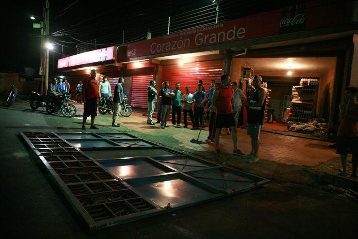 Geschlossene Geschäfte in Maracaibo