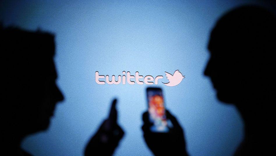 Kurznachrichtendienst Twitter: 288 Millionen Nutzer registriert.