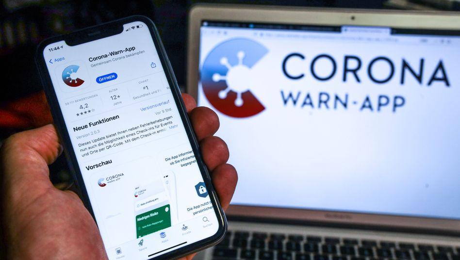 Ein negatives Ergebnis wird 48 Stunden lang angezeigt: Corona-Warn-App